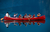 Wassersport im Bohinjsko Jezero =  Bohin-See, Slowenien