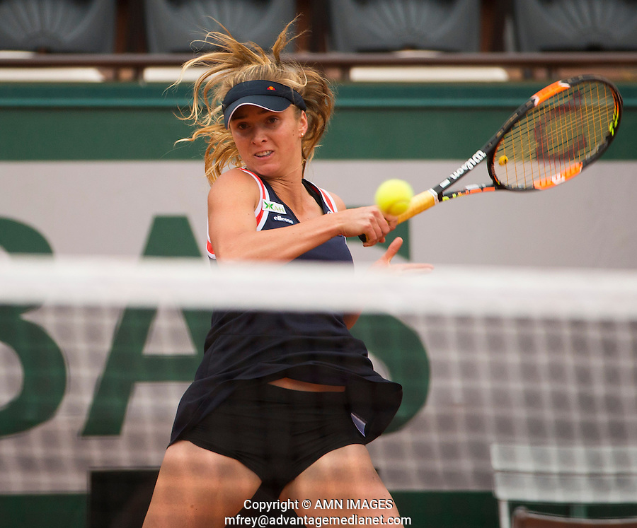 ELINA SVITOLINA (UKR)<br /> <br /> Tennis - French Open 2015 -  Roland Garros - Paris -  ATP-WTA - ITF - 2015  - France <br /> <br /> &copy; AMN IMAGES