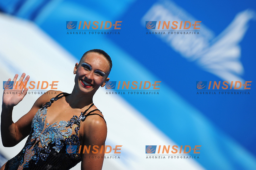 Roma 20th July 2009 - 13th Fina World Championships From 17th to 2nd August 2009..Roma 20 07 2009..Nuoto sincronizzato solo tecnico..Natalia Ischenko (RUS) medaglia d'oro....photo: Roma2009.com/InsideFoto/SeaSee.com