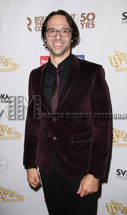 Jeremiah James attends 'The Robber Bridegroom' Off-Broadway Opening Night performance press reception at Laura Pels Theatre on March 13, 2016 in New York City.
