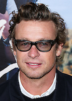 BEVERLY HILLS, CA, USA - NOVEMBER 19: Simon Baker arrives at the Los Angeles Premiere Of Fox Searchlight Pictures' 'Wild' held at the AMPAS Samuel Goldwyn Theater on November 19, 2014 in Beverly Hills, California, United States. (Photo by Xavier Collin/Celebrity Monitor)