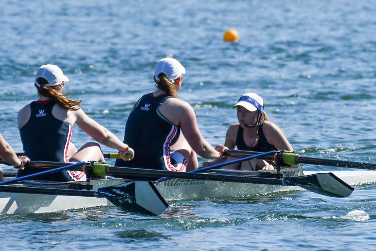 May 13, 2017; Gold River, CA, USA; II Eight Gonzaga Bulldogs during the WCC Rowing Championships at Lake Natoma.
