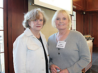 Catherine Hipp (left) and Judy McDonald attend the UA Women's Giving Circle celebration.<br />