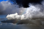 Clouds in the sky off Deadman's Beach Manly. Sydney, Australia.  Wednesday June 6th 2012. Photo: (Steve Christo).