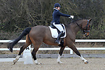 Class 6. British Dressage. Brook Farm training centre. Stapleford abbots. Essex. 10/03/2018. ~ MANDATORY CREDIT Garry Bowden/SIPPA - NO UNAUTHORISED USE - +44 7837 394578