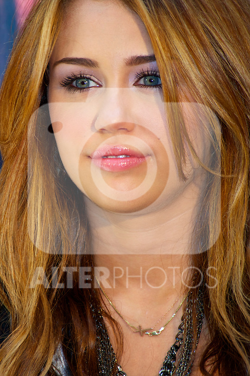 Singer Miley Cyrus presents her new Album 'Can't Be Tamed' at the Villamagna Hotel on May 31, 2010 in Madrid, Spain..Photo: Billy Cahppel / ALFAQUI