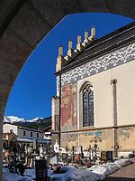 Pfarrkirche Mari&auml; Himmelfahrt in Imst, Tirol, &Ouml;sterreich, Europa<br /> parish church of the Assumption of Mary, Imst, Tyrol, Austria, Europe