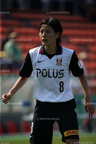 Hikaru Naomoto (Reds Ladies), <br /> JUNE 1, 2014 - Football / Soccer : Plenus Nadeshiko League 2014 Regular series between NTV BELEZA 0-2 Urawa Reds LADIES at Ajinomoto Field Nishigaoka Stadium, Tokyo, Japan. (Photo by Jun Tsukida/AFLO SPORT)