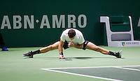 Februari 09, 2015, Netherlands, Rotterdam, Ahoy, ABN AMRO World Tennis Tournament, Grigor Dimitrov (BUL) -<br /> Photo: Tennisimages/Henk Koster