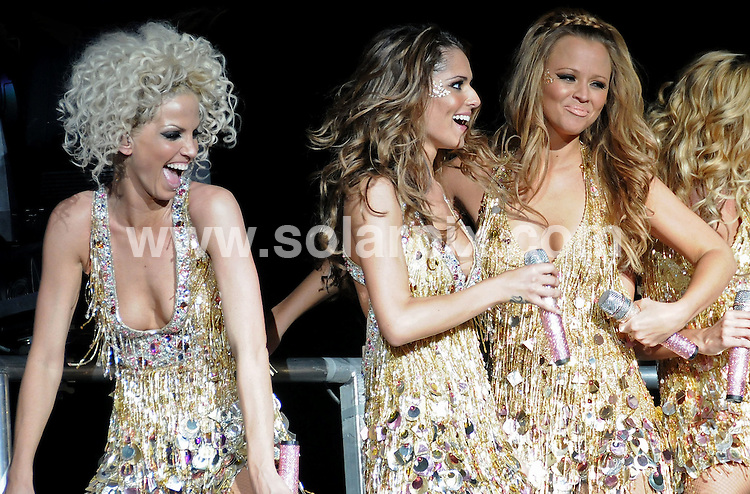 **ALL ROUND PICTURES FROM SOLARPIX.COM**.**WORLDWIDE SYNDICATION RIGHTS**.Girls Aloud perform live at the Brighton Centre, Brighton, UK. 13th May 2008..This pic: Girls Aloud..JOB REF: 6393 SSD-ATM DATE: 13_05_2008 .**MUST CREDIT SOLARPIX.COM OR DOUBLE FEE WILL BE CHARGED* *UNDER NO CIRCUMSTANCES IS THIS IMAGE TO BE REPRODUCED FOR ANY ONLINE EDITION WITHOUT PRIOR PERMISSION*