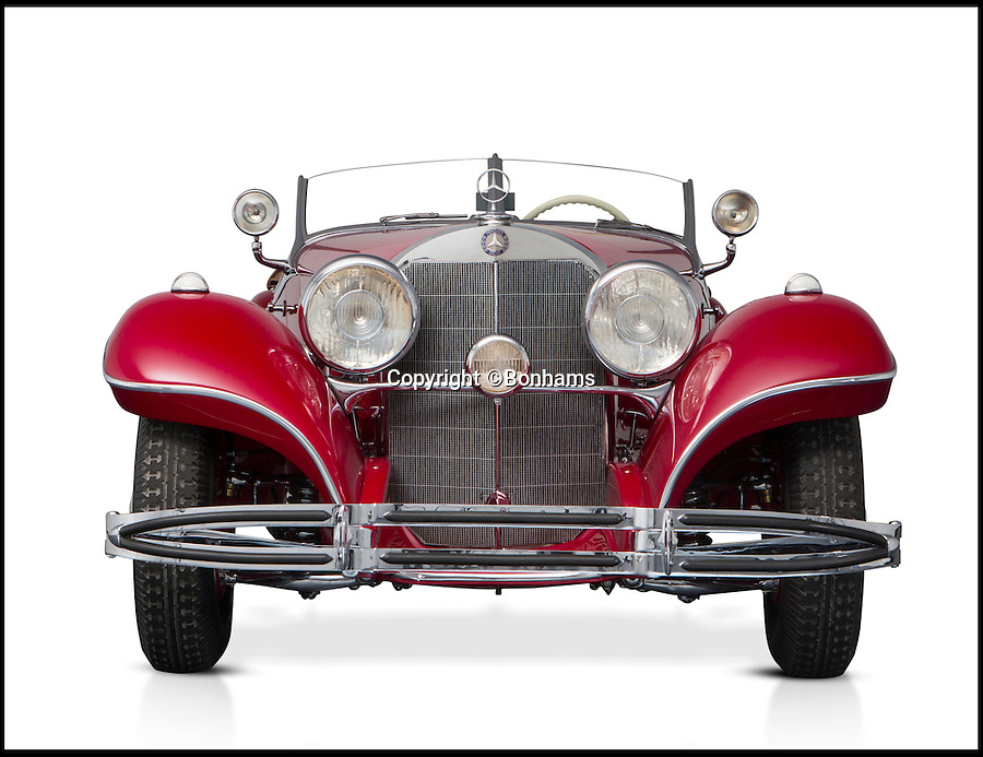 BNPS.co.uk (01202 558833)<br /> Pic: Bonhams/BNPS<br /> <br /> A magnificent Mercedes car taken as the spoils of war by an Allied soldier in Germany is to be sold for an estimated &pound;6m after a court ruling returned it to the grandchildren of its original owner.<br /> <br /> The 1935 Mercedes-Benz 500K Special Roadster spent 70 years in the US before it was bought by a Dutch car enthusiast who took it to Germany.<br /> <br /> The car was seized on behalf of the relatives in German industrialist Hans Prym and a court later ruled they were the rightful owners. They are now selling at auctioneers Bonhams.