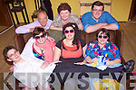 Dress rehearsals last Saturday for the Glorach Drama Group ahead of opening night this Thursday 18th in The Glorach Theatre, Abbeyfeale. Pictured B l-r: John Stretton, Mary Healy, Seamus Lane. F l-r: Dennis Murphy, Katie Moloney, Nadine Smith, Denise Ward...