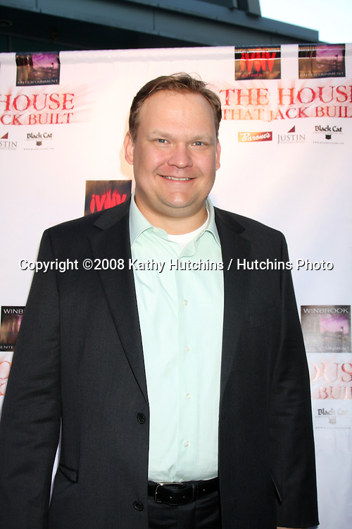 "Andy Richter arriving at the ""House that Jack Built"" Screening at the ArcLight Theaters in Los Angeles, CA  on July 14, 2009 .©2008 Kathy Hutchins / Hutchins Photo.."