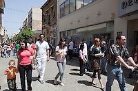 Zypern (Süd), auf der Ledra St in Nicosia (LefKosia)