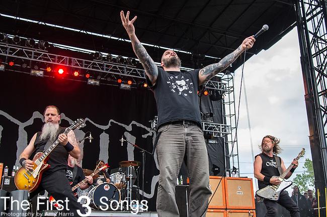 Phil Anselmo of Down performs during the 2014 Rock On The Range festival at Columbus Crew Stadium in Columbus, Ohio.