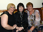 Linda Fagan, Claire Ward and Sarah Smith pictured at the 80's night at the Rugby Club. Photo:Colin Bell/pressphotos.ie