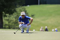 Soren Kjeldsen (DEN) on the 13th green during Thursday's Round 1 of the 2017 PGA Championship held at Quail Hollow Golf Club, Charlotte, North Carolina, USA. 10th August 2017.<br /> Picture: Eoin Clarke | Golffile<br /> <br /> <br /> All photos usage must carry mandatory copyright credit (&copy; Golffile | Eoin Clarke)