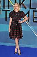 Ava Elizabeth Phillippe at the &quot;A Wrinkle In Time&quot; European film premiere, BFI Imax, Waterloo, London, England, UK, on Tuesday 13 March 2018.<br /> CAP/CAN<br /> &copy;CAN/Capital Pictures /MediaPunch ***NORTH AND SOUTH AMERICAS ONLY***