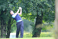 Peter McKeever (Castle) during the first round at the Mullingar Scratch Trophy, the last event in the Bridgestone order of merit Mullingar Golf Club, Mullingar, West Meath, Ireland. 10/08/2019.<br /> Picture Fran Caffrey / Golffile.ie<br /> <br /> All photo usage must carry mandatory copyright credit (© Golffile | Fran Caffrey)