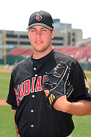 Indianapolis Indians Josh Sharpless during an International League game at Dunn Tire Park on June 18, 2006 in Buffalo, New York.  (Mike Janes/Four Seam Images)