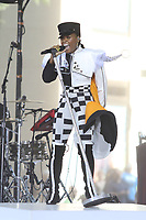 Janelle Monae<br /> In concert at Today Show. 8-24-2018<br /> Photo by John Barrett/PHOTOlink.net