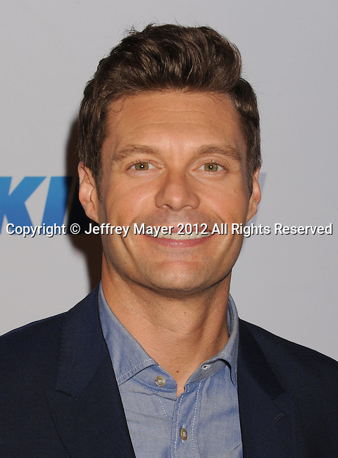 LOS ANGELES, CA - DECEMBER 01: Ryan Seacrest  attends KIIS FM's 2012 Jingle Ball at Nokia Theatre L.A. Live on December 1, 2012 in Los Angeles, California.