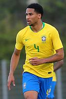 Murilo of Cruzeiro and Brazil during France Under-18 vs Brazil Under-20, Tournoi Maurice Revello Football at Stade d'Honneur Marcel Roustan on 5th June 2019