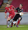Shire's Jordan Holt (5) gets away from Clyde's Sean Fitzharris (7).