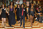 Model walks runway during the William H. Maxwell CTE High School Mode 17 fashion show on June 16, 2017.
