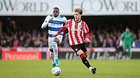 Mathias Jensen of Brentford in action during Brentford vs Queens Park Rangers, Sky Bet EFL Championship Football at Griffin Park on 11th January 2020