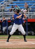 July 14th, 2007:  Matt Angle of the Aberdeen Ironbirds, Class-A Short-Season affiliate of the Baltimore Orioles, stands at bat during a game vs the Jamestown Jammers in New York-Penn League action.  Photo Copyright Mike Janes Photography 2007.