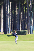 Nicolas Colsaerts (BEL) plays his 2nd shot on the 10th hole during Thursday's Round 1 of the 2018 Turkish Airlines Open hosted by Regnum Carya Golf &amp; Spa Resort, Antalya, Turkey. 1st November 2018.<br /> Picture: Eoin Clarke | Golffile<br /> <br /> <br /> All photos usage must carry mandatory copyright credit (&copy; Golffile | Eoin Clarke)