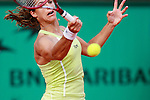 Roland Garros. Paris, France. June 4th 2006..Amelie Mauresmo against Nicole Vaidisova.