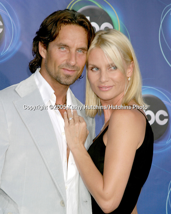 Nicolette Sheridan  and fiance Nicolas.ABC TCA Party.The Abby.W. Hollywood, CA.July 27, 2005.©2005 Kathy Hutchins/Hutchins Photo..