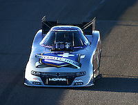 Feb 27, 2016; Chandler, AZ, USA; NHRA funny car driver Jack Beckman during qualifying for the Carquest Nationals at Wild Horse Pass Motorsports Park. Mandatory Credit: Mark J. Rebilas-