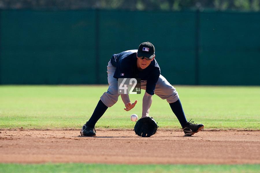Baseball - MLB Academy - Tirrenia (Italy) - 19/08/2009 - Nick Urbanis (Netherlands)
