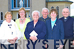 Joan Coffey Killarney, Mary O'Connor Killarney, Sr Peig Rahilly Currow and Kilkenny, Jack Rahilly, Mary Rahilly and Fr Martin Spillane all Currow at the 50th anniversary of the Prince of Peace church in Currow on Tuesday evening    Copyright Kerry's Eye 2008