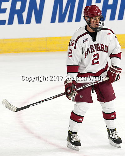 Tyler Moy (Harvard - 2) - The Harvard University Crimson defeated the Providence College Friars 3-0 in their NCAA East regional semi-final on Friday, March 24, 2017, at Dunkin' Donuts Center in Providence, Rhode Island.