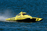 "Pat Haworth, S-80 ""On The Edge""            (2.5 Litre Stock hydroplane(s)"