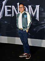 "LOS ANGELES, CA. October 01, 2018: Nico Santos at the world premiere for ""Venom"" at the Regency Village Theatre.<br /> Picture: Paul Smith/Featureflash"