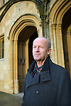Jim Crace at Christ Church during the Sunday Times Oxford Literary Festival, UK, 16 - 24 March 2013. <br />