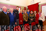 Lecture: Attending the Thomas Dillon lecture on George Hewson  at the Kerry Writers Museum, Listowel on Thursday night last were Liam Walsh, DJ Brosnan, Aidan O'Sullivan, Bridie O'Sullivan, Marguerite Corridan, Marie Corridan, ..........Mary Dillon, Anne Marie Dillon & Katie Mai Gleeson.