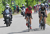 June 17th 2017, Schaffhaussen, Switzerland;  WALLAYS Jelle (BEL) Rider of Team Lotto - Soudal during stage 8 of the Tour de Suisse cycling race, a stage of 100 kms between Schaffhaussen and Schaffhaussen