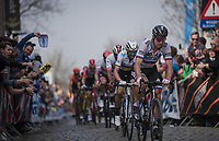 Peter SAGAN (SVN/BORA-Hansgrohe)  up the Oude Kwaremont<br /> <br /> 103rd Ronde van Vlaanderen 2019<br /> One day race from Antwerp to Oudenaarde (BEL/270km)<br /> <br /> ©kramon