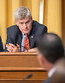United States Senator Bill Cassidy (Republican of Louisiana) questions a witness during a US Senate Committee on Finance confirmation hearing on Capitol Hill in Washington, DC on Wednesday, August 22, 2018.<br /> Credit: Ron Sachs / CNP