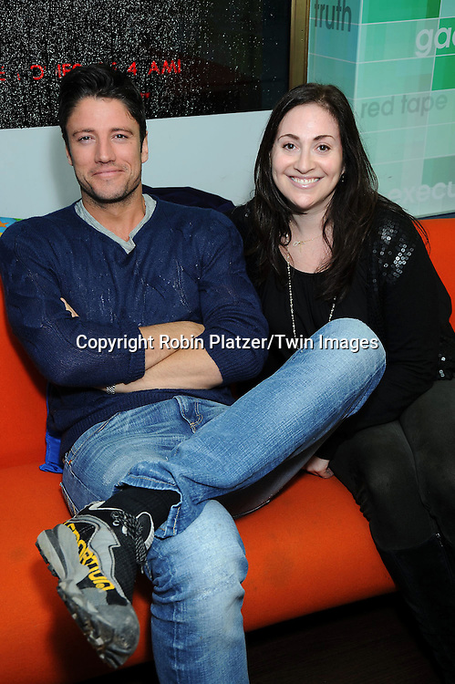 "James Scott and Stephanie Sloane attending the Days of Our Lives Book Signing on February 25, 2011 at The NBC Experience Store in New York City. They signed ""Days of Our Lives 45 Years: A Celebration in Photos"" and "" A Secret in Salem""."