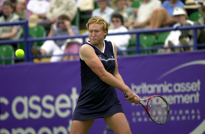 Photo:Rene Solari.Final round qualifying British Girl  Elena Baltacha.