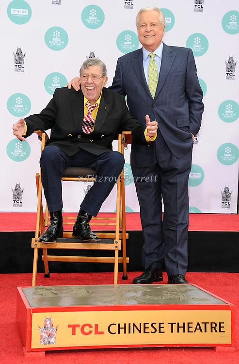 Robert Osborne at The 2014 TCM Film Festival which Honored Jerry Lewis with a Hand and Foot Print at TCL Chinese Theater Los Angeles,  April 12, 2014.