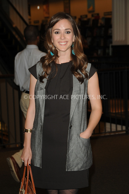 WWW.ACEPIXS.COM . . . . . ....April 12 2011, Los Angeles....Actress Christina Bennett Lind at a signing Susan Lucci's book 'All My Life' at Barnes & Noble at The Americana on April 12, 2011 in Glendale, CA ....Please byline: PETER WEST - ACEPIXS.COM....Ace Pictures, Inc:  ..(212) 243-8787 or (646) 679 0430..e-mail: picturedesk@acepixs.com..web: http://www.acepixs.com