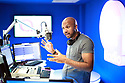 FOR RACH WEEKLY FEATURE: Ibe Sesay at Q radio Belfast, Tuesday, June 11, 2019.  (Photo by Paul McErlane for Belfast Telegraph)